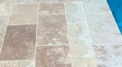 Add a touch of luxury to your pool surrounds with TRAVERTINE TILES in the colour…