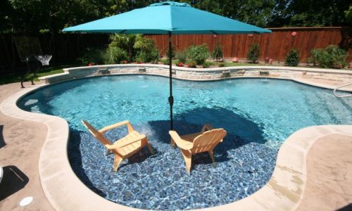 Above ground pool on sloped yard – Google Search