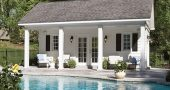 Pool House, Granite Coping, Deck