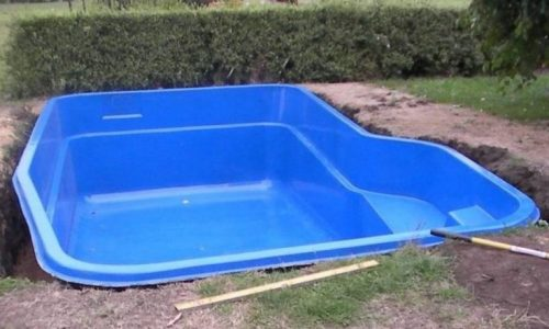 Stock tank pool complete with salt water filter system, slide and we use a bucket