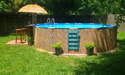 Sew And Tell Quilts: Inground Stock Tank Pool Project – Updated June 9th