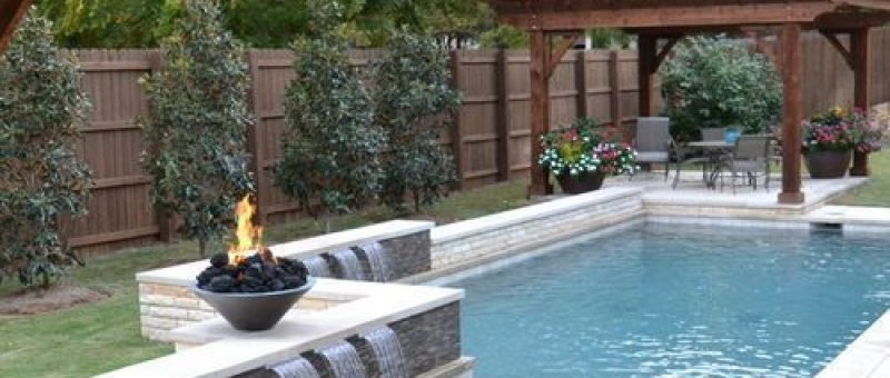 Affordable, Premium Small Dallas Small Plunge Rectangular Pool Design Ideas, Rem…