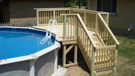 Top 94 Diy Above Ground Pool Ideas On A Budget above ground pool deck ideas, abo…