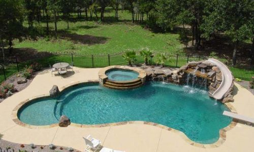 Easy And Simple Landscaping Ideas and Garden Designs Drawing Cheap Pool landscap…