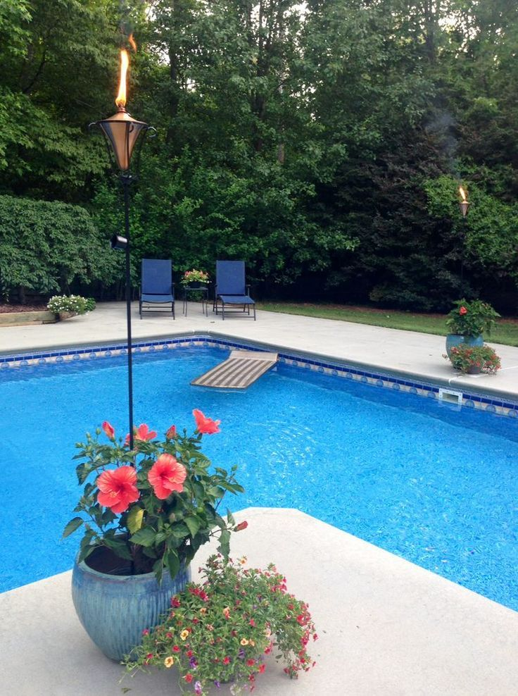 Upgrading Pool And Backyard New Landscaped Slope Replaces